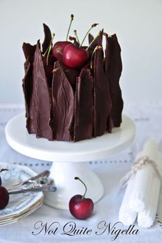 Shattered Black Forest Cheesecake
