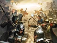 The forces of Middle Earth in the third age. All of them.
