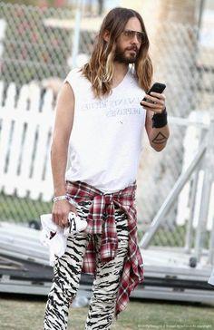 Jared Leto Coachella 2014