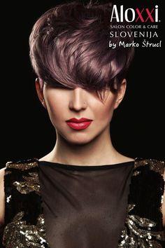 Con il colore giusto nulla è impossibile. E il parrucchiere può veramente scatenarsi nell'ottenere gli effetti moda e le sfumature più incredibili! Come con i Colori Personalità AloXXi, qui interpretati in maniera eccellente da Marko Štrucl, capo-formatore di AloXXi Slovenia. Un tuffo nel colore, una vera gioia per gli occhi: www.aloxxi.it
