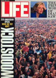 LIFE MAGAZINE WOODSTOCK 1969