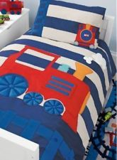 Next Bedding Train Bed Set Single Size Duvet Cover 1 Pillow Case Brand New