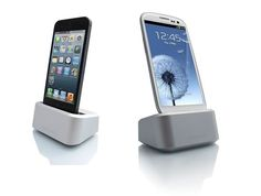 ONE DOCK FOR APPLE AND SAMSUNG PHONES