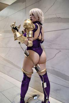 Soulcalibur IV (cheeky) Cosplay: Ivy Valentine (Belle Chere) (vivolatino.com pinterest)