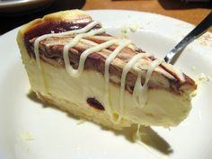Copycat TGI Fridays Cinnabon Cheesecake