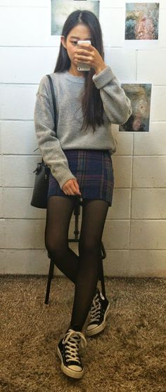 nice Korean Daily Fashion by http://www.redfashiontrends.us/korean-fashion/korean-daily-fashion-4/