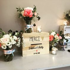 Bed and Breakfast and Banquet Room - Ferme de Bouchemont - Wedding Rustic Wedding Decorations, Table Decorations, Simple Weddings, Bed And Breakfast, Wedding Planner, Reception, Place Card Holders, Pictures, Inspiration