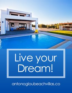 A luxury private collection of beautiful beachfront Villas, all with private access to the beach, amazing sea view and private pools. Beach Villa, Private Pool, Home And Away, Live For Yourself, Beautiful Beaches, Villas, Dreaming Of You, Greece, Outdoor Decor