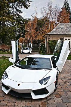Lamborghini Murcielago SV and the Lamborghini Aventador Lamborghini Murcielago Sv, Lamborghini Cars, Super Sport Cars, Super Cars, Fancy Cars, Cool Cars, Ferrari, High End Cars, Derby Cars