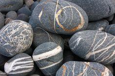 Pebbles at Millook Haven, Cornwall
