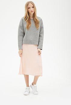 Pleated Chiffon Skirt | FOREVER21 - 2000116681