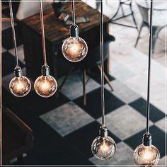 #gorgeous #modern #hanging #lights #bombillas #colgantes #modernas