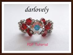 Swarovski Red Monte Ring