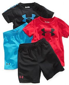 Baby Boy Clothing at Macy's - Baby Boy Clothes and Baby Clothes for Boys - kid kid Baby Little Boy Outfits, Baby Boy Outfits, Kids Outfits, Baby Boy Fashion, Kids Fashion, Baby Kids Clothes, Little Boys Clothes, Soccer Clothes, Sporty Clothes