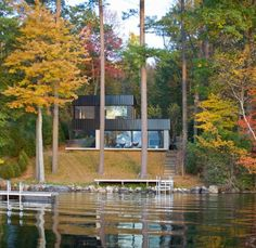 Cantilever Lake House by Brian Mac