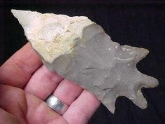 EXCEPTIONAL TEXAS PEDERNALES POINT Arrowhead Authentic Indian Artifact