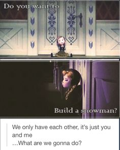 Disney Frozen's Anna and Elsa   Do you Want to Build a Snowman?