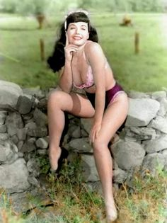 bettie page color # 84