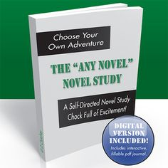 "The ""Any Novel"" Novel Study - comes with editable PDF version for students to use  ($)"