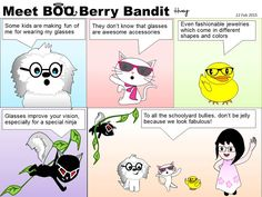 Meet BOO Berry Bandit (BBB): To All Cool People with Glasses - From Boo Berry B...