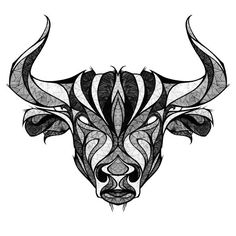 This tattoo has unique drawings of head of a Taurus bull and makes it look cool. Color: Gray. Tags: Cool, Beautiful, Meaningful