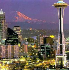 Seattle, Washington- the setting of two fabulous shows (Frasier and Grey's Anatomy). So yeah, it's on my list.
