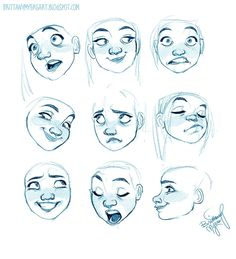 Drawing expressions, drawings и character design references. Character Design Cartoon, Character Design References, Character Design Inspiration, Character Art, Character Sketches, Character Design Animation, Anime Character Drawing, Fantasy Character, Character Design Tutorial