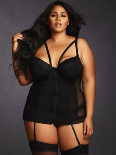 Plus size lingerie wear