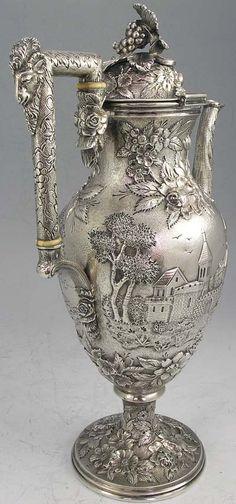 Stunning antique coffee urn