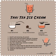 Thai tea ice cream r