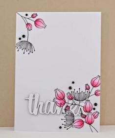 Jane's Doodles Doodle Flowers II stamp set! Simple and gorgeous! Flower Doodles, Doodle Flowers, Paint Cards, Watercolor Cards, Watercolor Sketch, Flower Cards, Doodle Art, Doodle Drawings, Greeting Cards Handmade