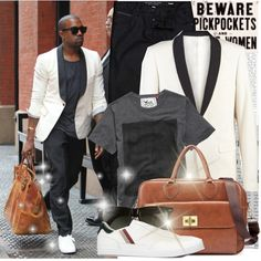 Kanye West Fashion Street