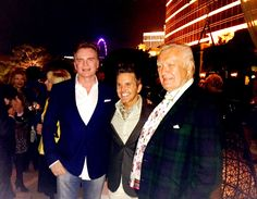 Designer Christopher Guy Harrison attends the Las Vegas Market event at La Cave Wynn Las Vegas with other fellow design professionals and the 2015 Design Icon Carleton Varney on January 19th, 2015.