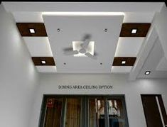 An Essential Of Modern Architecture - The Suspended Ceiling - False Ceiling Ideas - Pop Ceiling Design, Ceiling Design Living Room, Bedroom False Ceiling Design, Bedroom Ceiling, Living Room Designs, Bedroom Decor, Design Bedroom, Faux Plafond Design, Wall Fans
