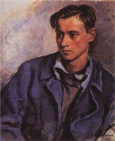 Portrait of his son Alexander - Zinaida Serebriakova