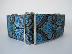 Blue Martingale Collar 2 Inch Martingale Collar by HuggableHound, $20.99