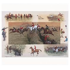 Snaffles - Charlie Johnson Payne Horse Prints - An Irish Point t Hunting Art, Fox Hunting, Horse Stencil, Cross Stitch Horse, Country Art, British Country, Country Life, Equestrian Decor, Equestrian Style