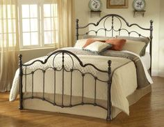 Hillsdale 1480BQR Venetian Bed Set with Rails Queen