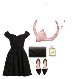 """""""Little black dress"""" by hollyrt2111 ❤ liked on Polyvore featuring D.anna and Balenciaga"""