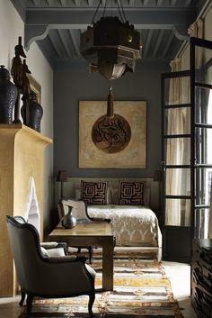 Dark   modern   global style   interiors                                                                                                                                                      More