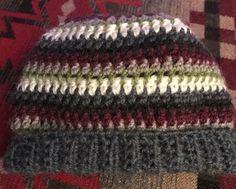 "Newborn infant baby boy crochet winter hat cap beanie blue brown jsuey123 13""  | eBay"