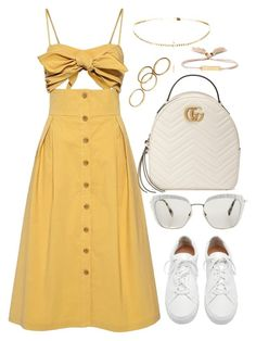 """""""Untitled #3955"""" by theeuropeancloset on Polyvore featuring Sea, New York, Loeffler Randall, Gucci, Miu Miu and Chloé"""