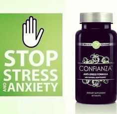 This stuff is truly the best! Sick of put harmful chemicals in your body to help with stress? Confianza is an all natural product to ease your stress levels.