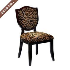 Zebra Shield Side Chair