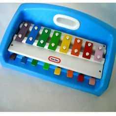 Little Tikes..... piano/xylophone thingy... so fun!!