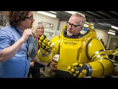 Adam Savage Puts On Alien: Covenant's Spacesuit!: Tested Adam Savage Puts On Alien: Covenant's Spacesuit! http://www.tested.com Wed,…