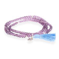 Salih bracelet Purple #LuxenterJoyas #LuxenterSilver