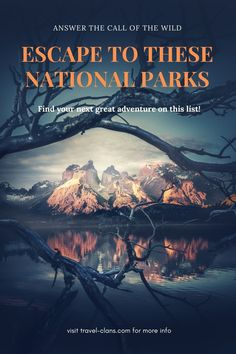 National parks are some of the most stunning places on earth. Here are 10 Beautiful National Parks In The World That Will Make Your Kids' Jaws Drop. National Parks, Acadia National Park, Greatest Adventure, Cat Ba Archipelago, Packing List For Travel, Travel Tips, Winter Sun Holidays, James Bond Island, Road Trip Destinations