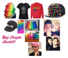 """""""gay people are amazing! matthew lush and nick laws"""" by kylee-bannister ❤ liked on Polyvore featuring Charlotte Russe"""