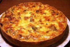 Вкусный Лоранский пирог с курицей и грибами